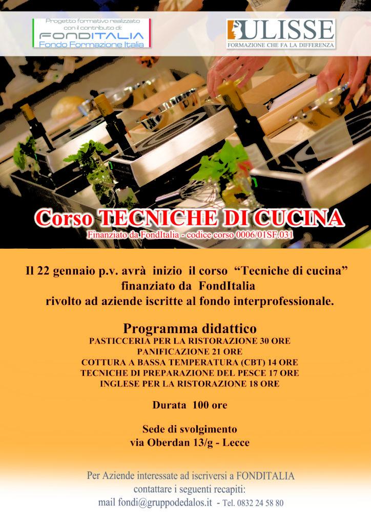 Scuola di cucina - Agenzia Formativa Ulisse