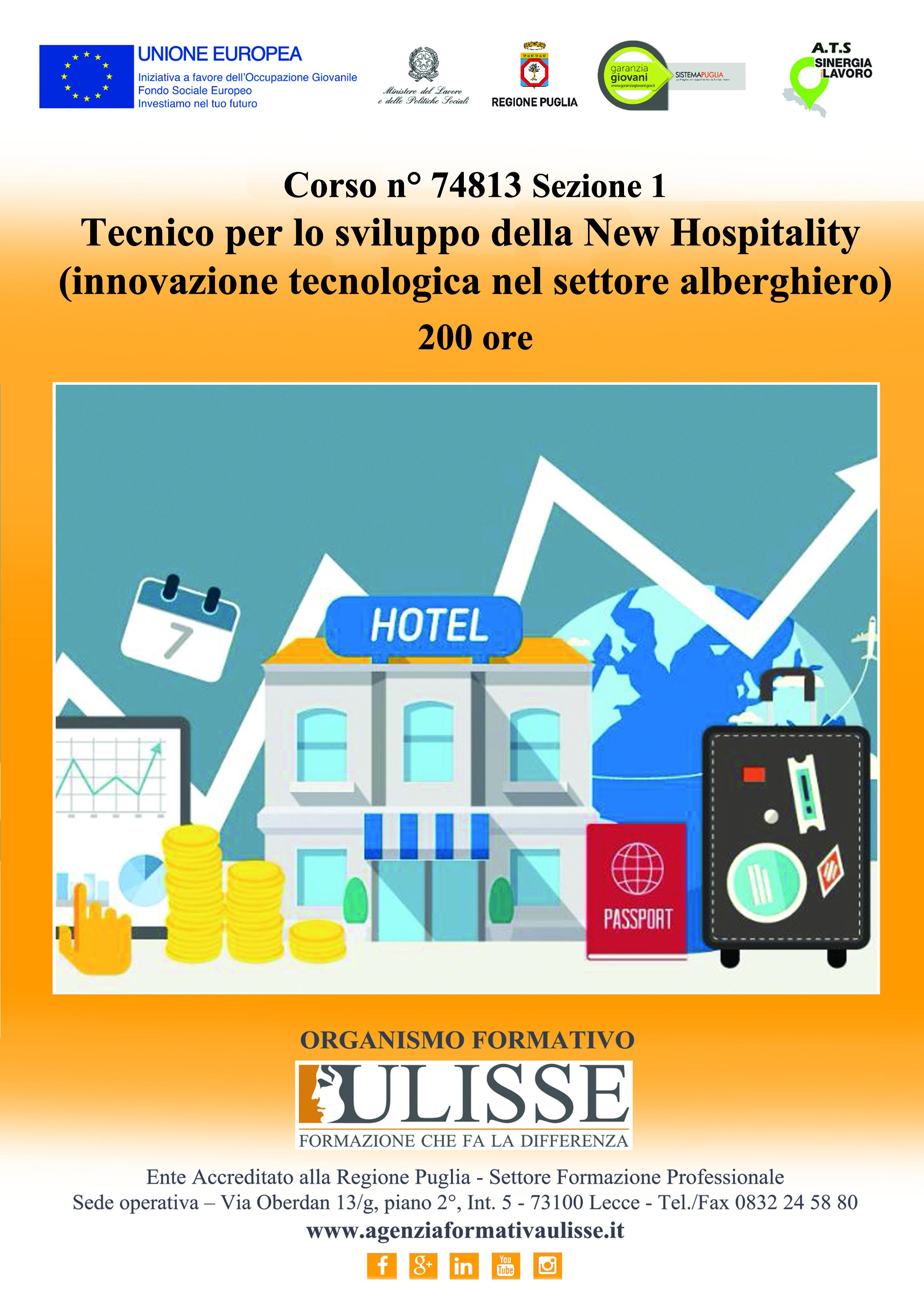 Tecnico per lo sviluppo della new hospitality
