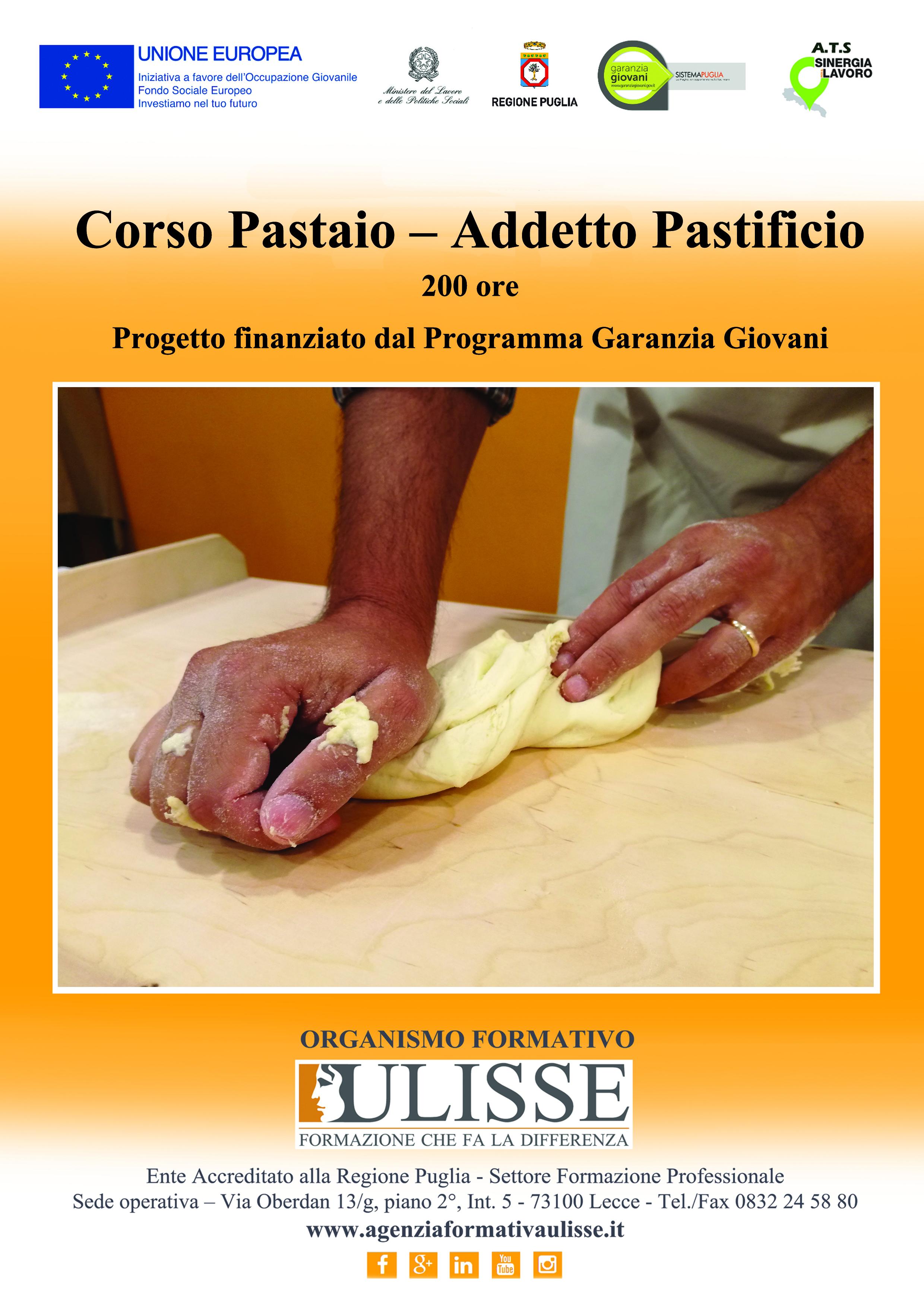 Corso Formazione per Pastaio – Addetto Pastificio