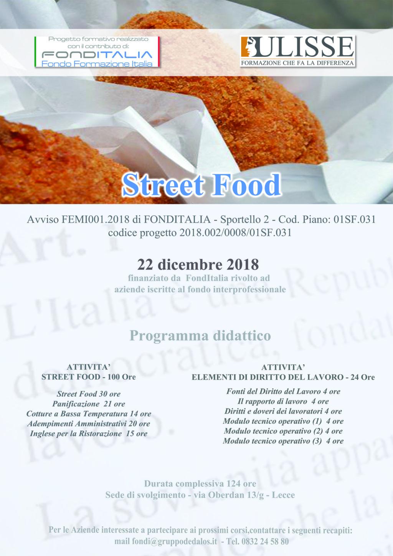 Corso Street Food – Fonditalia