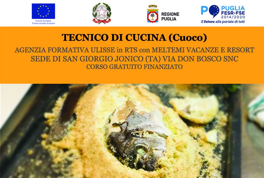 Corso Tecnico di Cucina – San Giorgio Jonico