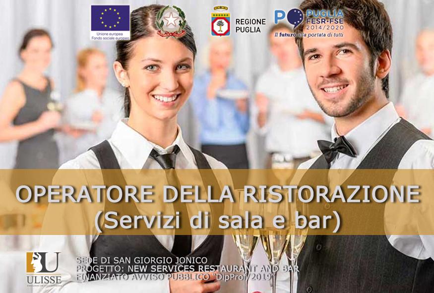 Operatore della Ristorazione (servizi di sala e bar)