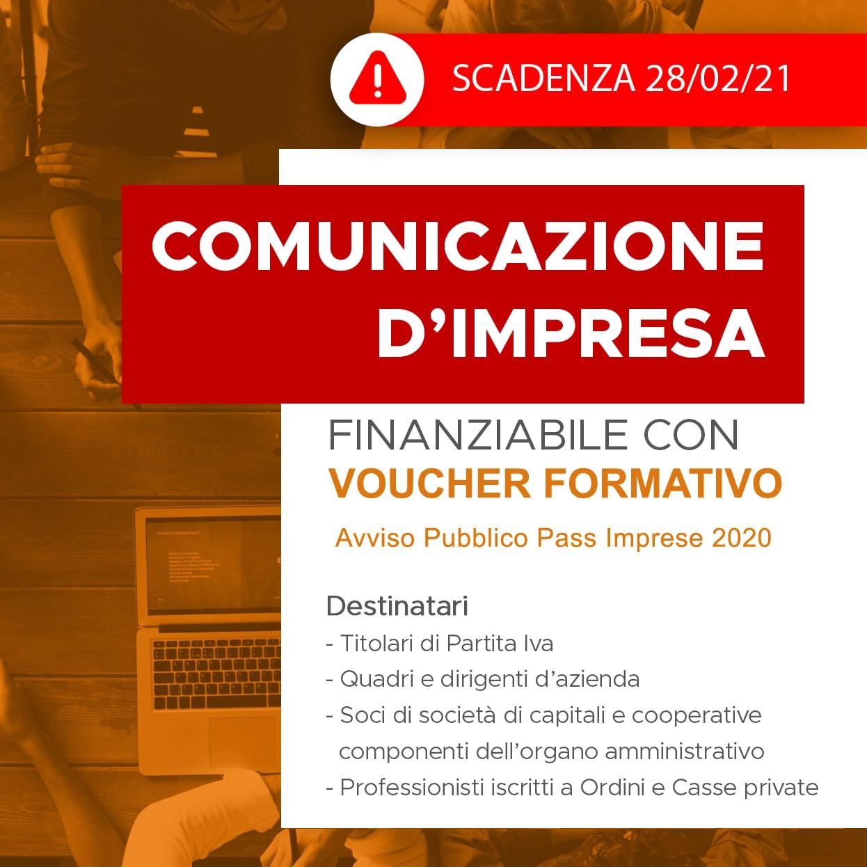 CORSO SULLA COMUNICAZIONE D'IMPRESA
