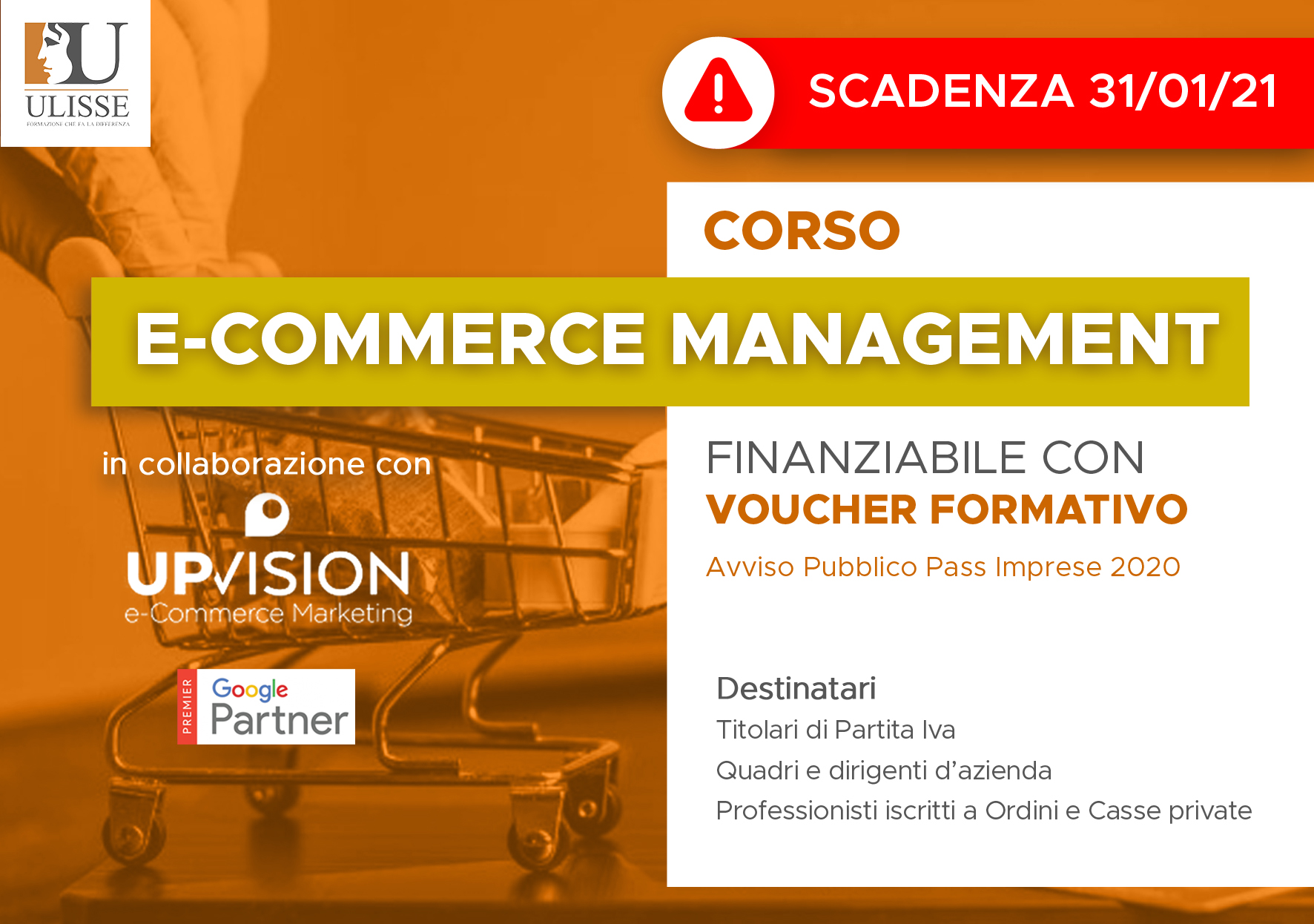 CORSO SU E-COMMERCE MANAGEMENT